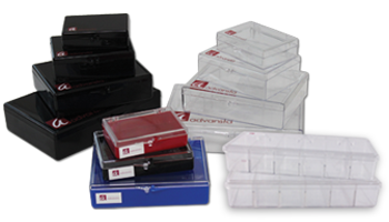 Lidded incubation trays for washing gels and blots or staining gels and blots
