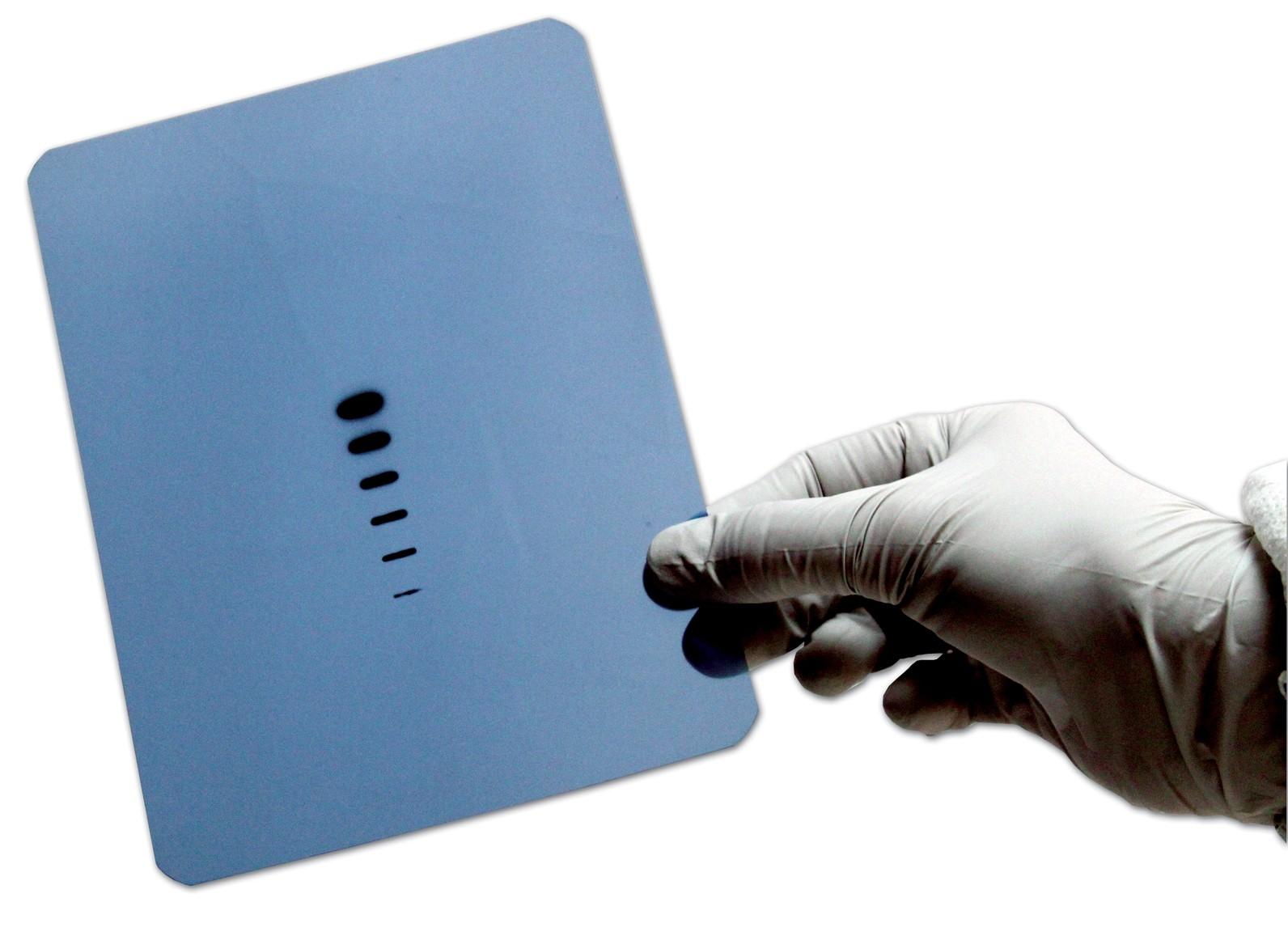 LucentBlue X-ray film